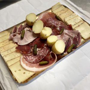 Plateau raclette complet pour 2 pers